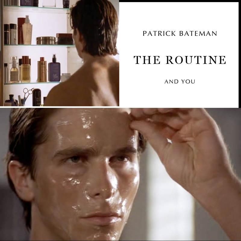 Patrick bateman facial