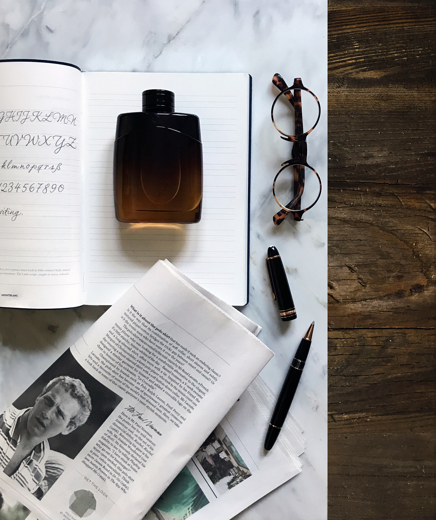 Fall Fragrance: Montblanc Legend Night