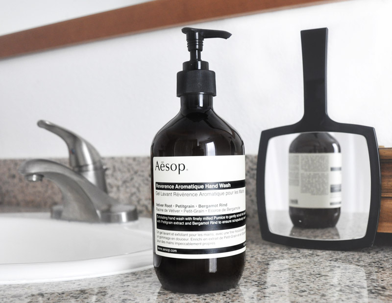High Five: Aesop Reverence Aromatique Hand Wash