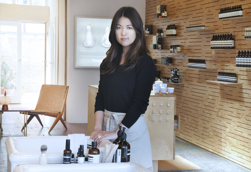 Annie Cassel, Store Manager, Aesop Abbot Kinney