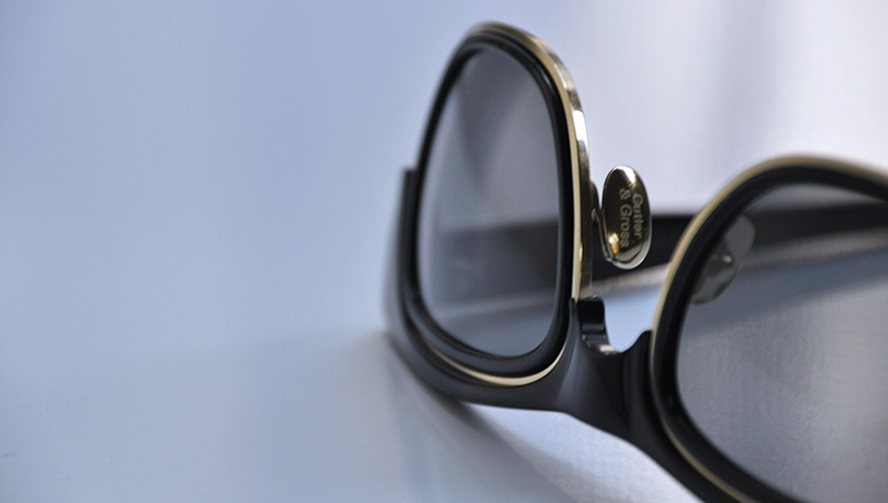 Shades of Fall: Cutler & Gross Acetate and Metal Sunglasses