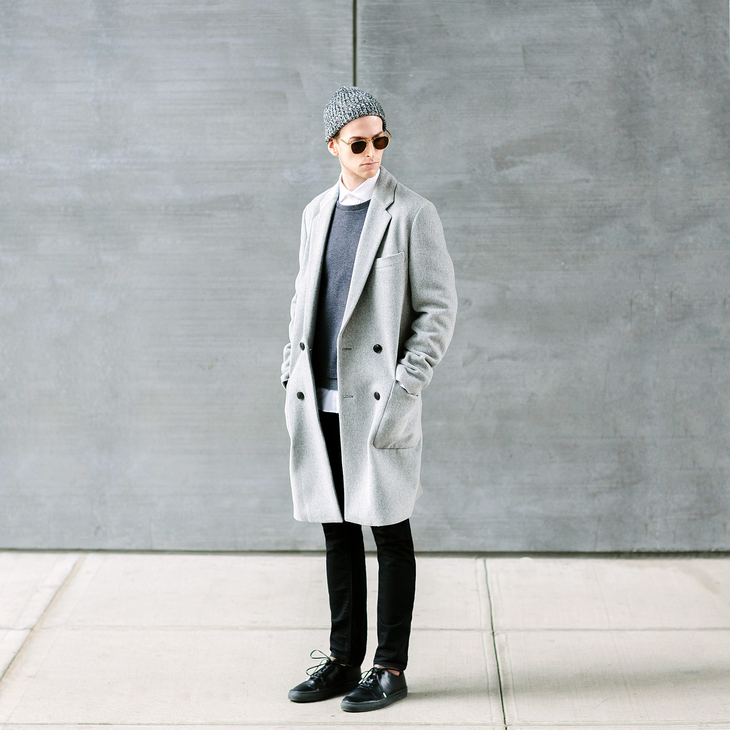 How To Wear Grey This Winter