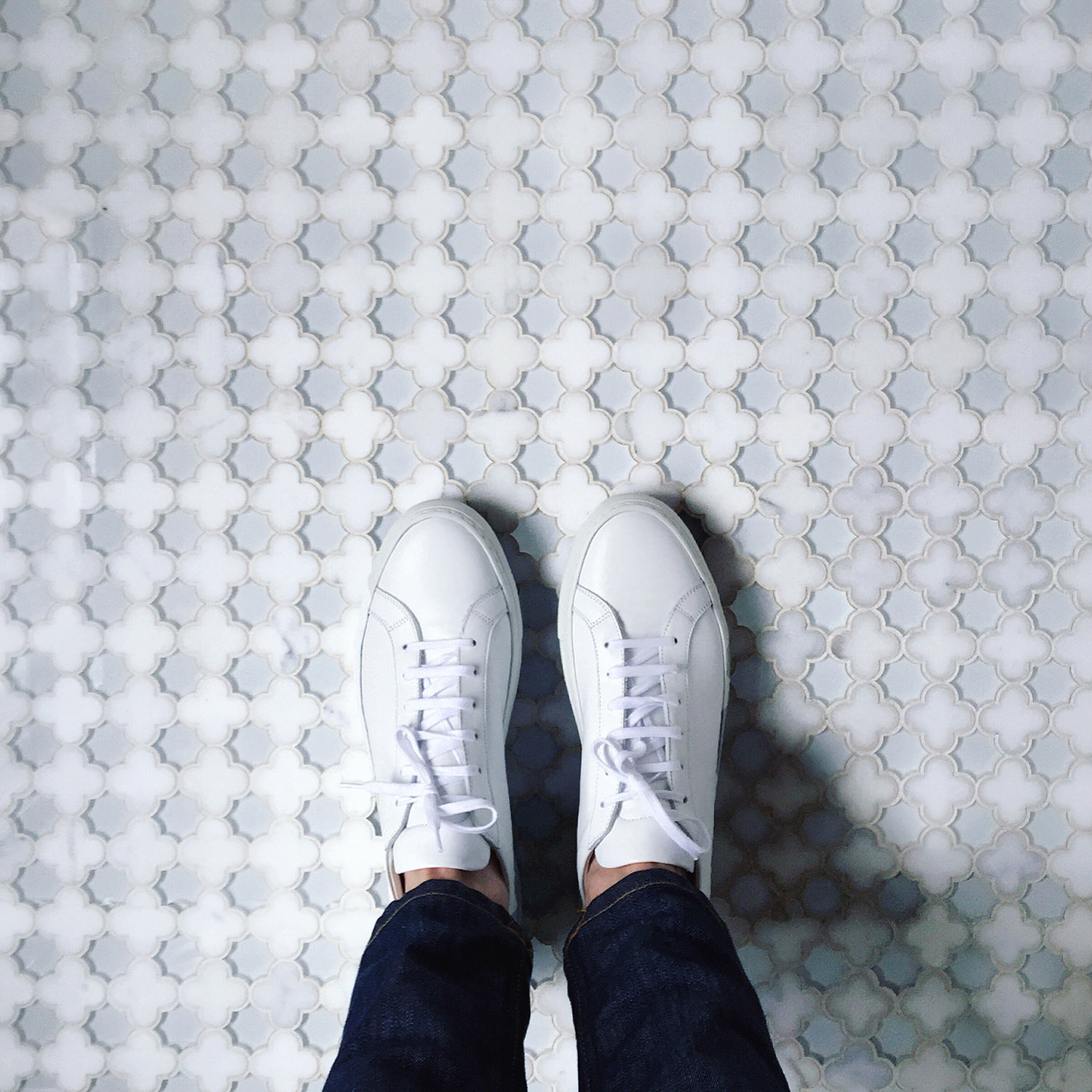 The Perfect White Sneakers